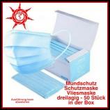 Mundschutz/ Schutzmaske/ Vliesmaske 3 lagig