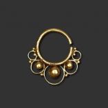Ornamental Brass Septum Piercing