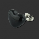 SUPERNOVA CONCEPT Absolute Black Heart Earstud